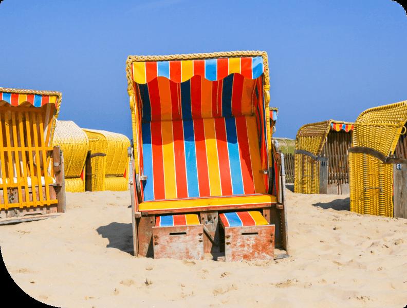 Beachstoelen Zeepaardje Egmond
